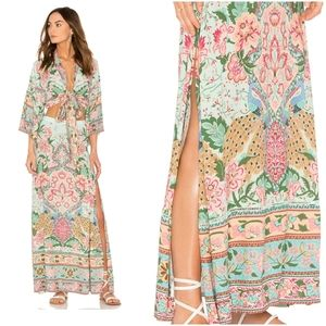 HP!! Spell and the Gypsy Lotus Maxi Skirt-Sz Sm/XS